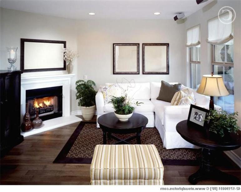 Arranging Furniture Around Corner Fireplace Decorating