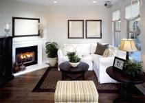 Arranging Furniture Around Corner Fireplace Decorating
