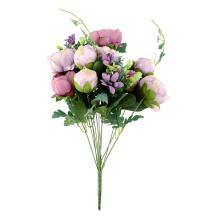 Artificial Fake Peony Silk Flowers Bridal Hydrangea Home