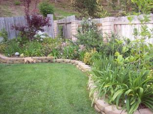 Astonishing Small Garden Yard Exterior Backyard