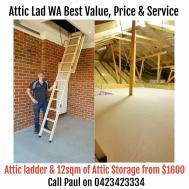 Attic Storage Ideas Lad Perth