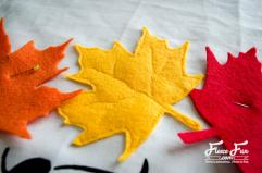 Autumn Leaves Pillow Tutorial Pattern Fleece Fun