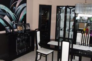 Awesome Black Lacquer Furniture Dining Room
