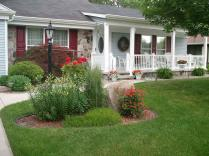 Awesome Front Yard Landscaping Ideas Rocks Lawn