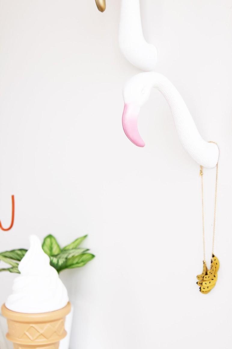 Aww Sam Diy Flamingo Wall Hooks