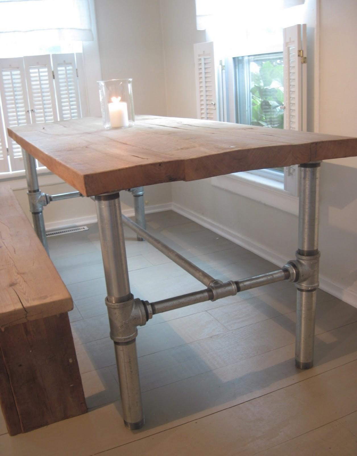 back home design industrial table base