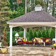 Backyard Pavilion Kits Modern Home Gogo Papa
