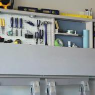 Backyards Garage Workbench Tool Storage