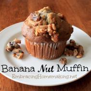 Banana Nut Muffins Recipe Dishmaps