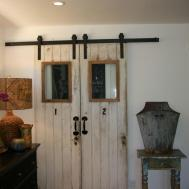 Barn Doors Closets Present Rustic Outlooks