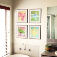 Bathroom Art Kids Decor Ideas