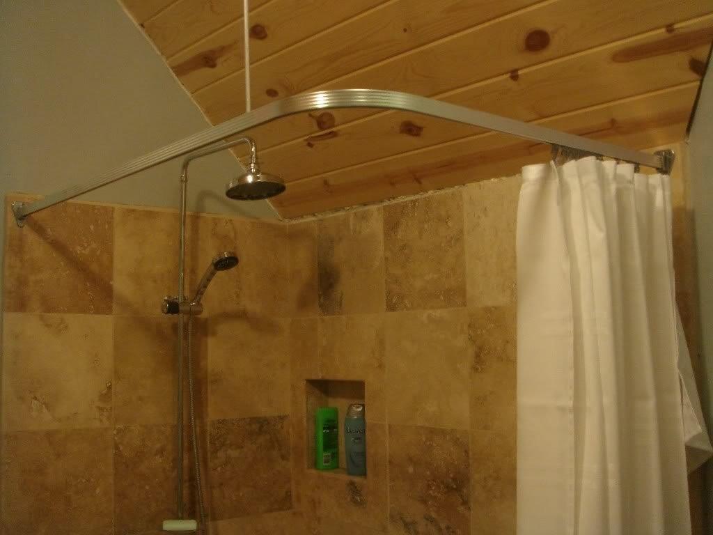 bathroom corner shower tile ideas small