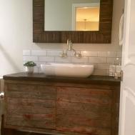 Bathroom Endearing Reclaimed Wood Vanity Design