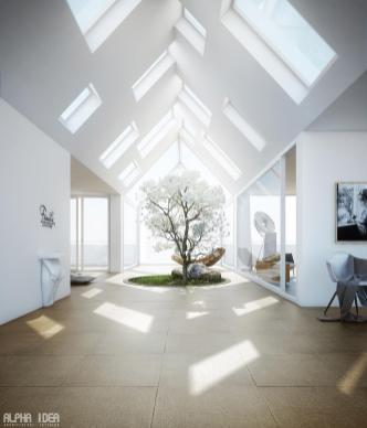 Bathroom Skylight Design Ideas Homesfeed