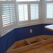 Bay Window Sitting Awesome Kitchen Bench Cushion Set