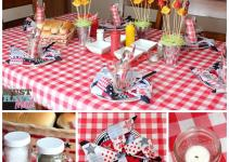 Bbq Party Decoration Ideas Fire Pit Design