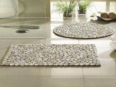 Beach Furniture Decor Diy Stone Wall Floor Mat