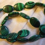 Beads Green Malachite Gemstone Oval Pack