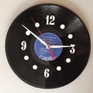 Beatles Record Clock Make Original Vinyl