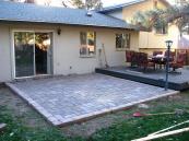 Beautiful Build Raised Paver Patio