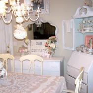 Beautiful Shabby Chic Decorating Ideas Dining Room Light