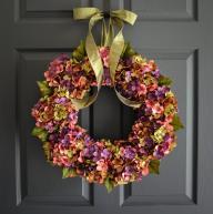 Beautiful Wreaths Blended Hydrangea Wreath Spring