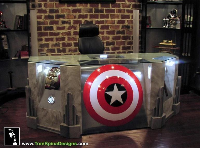 Become Superhero Custom Built Avengers Office