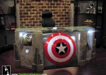 Become Superhero Custom Built Avengers Office