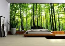 Bedroom Forest Murals Homewallmurals