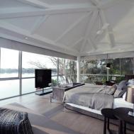 Bedroom Lake Views Baan Citta Bangkok Thailand