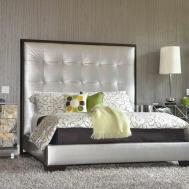 Bedroom Modern Mirrored Nightstand Design Beds