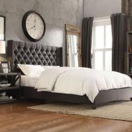 Bedroom Stunning Tufted King Bed Furniture Ideas