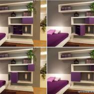 Bedroom Wall Shelves Decorating Ideas