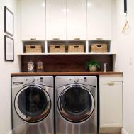 Before After Bathroom Turned Laundry Room Chris