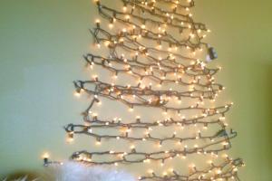 Behind Big Green Door Diy Christmas Tree