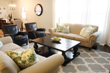 Beige Grey Black Living Room