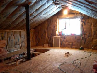 Bengworks Turning Attic Into Living Space