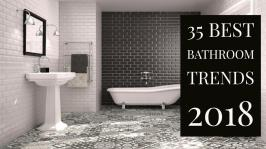 Best Bathroom Trends 2018