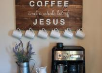 Best Coffee Station Ideas Designs 2018