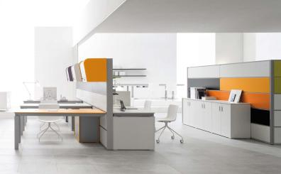 Best Colors Office Feng Shui Modern Cubicle
