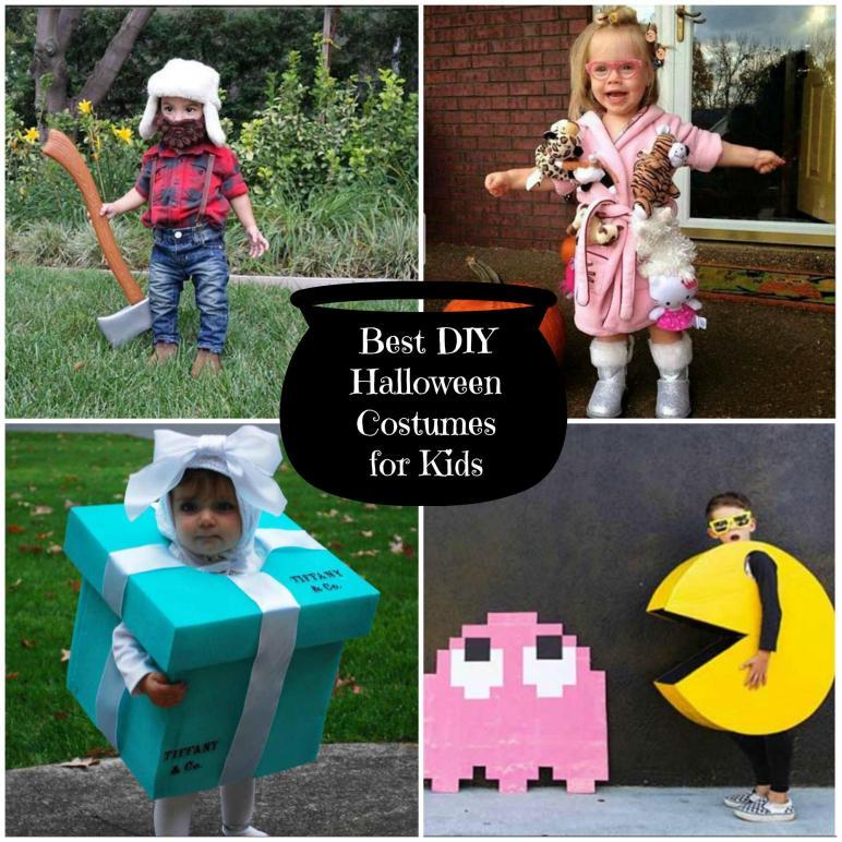 Best Diy Halloween Costumes Kids Sometimes Homemade