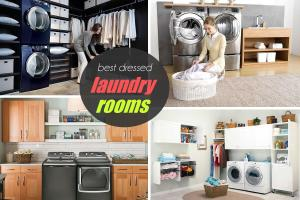 Best Dressed Laundry Room Judging Together Samsung