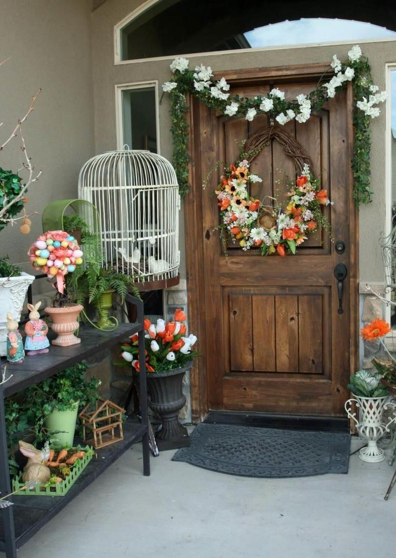 Best Easter Porch Decor Ideas Designs 2018