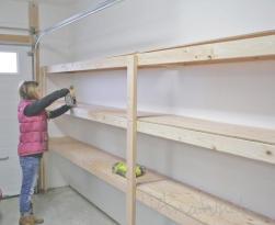 Best Garage Shelving Ideas Wild Wood Home
