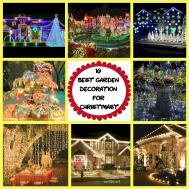 Best Garden Decorations Christmas Wartaku