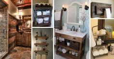 Best Rustic Bathroom Design Decor Ideas 2018
