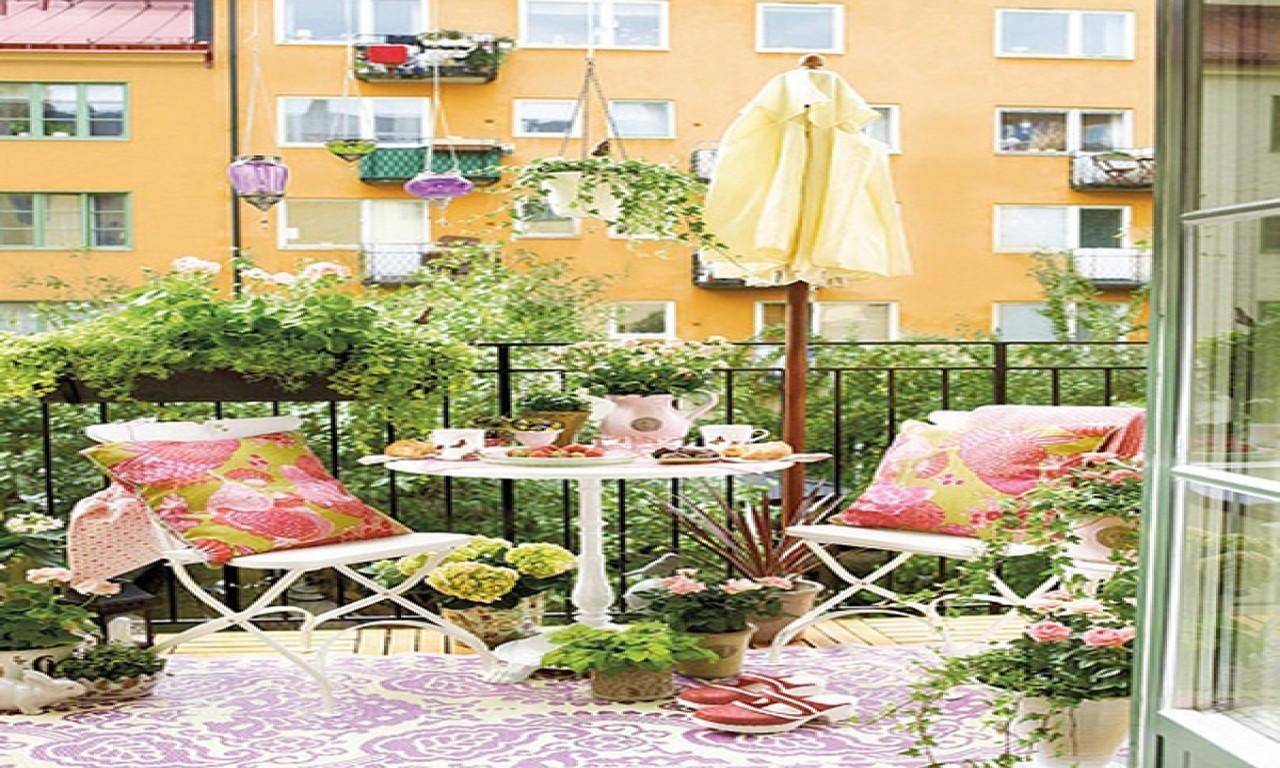 creative balcony gardens ideas small