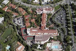 Beverly Hills Hotel Aerial Shots Zimbio