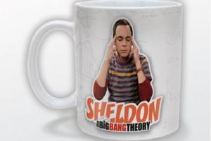 Big Bang Theory Mug Bazinga Sheldon Logo New Official