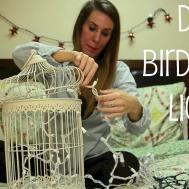 Birdcage Light Decor